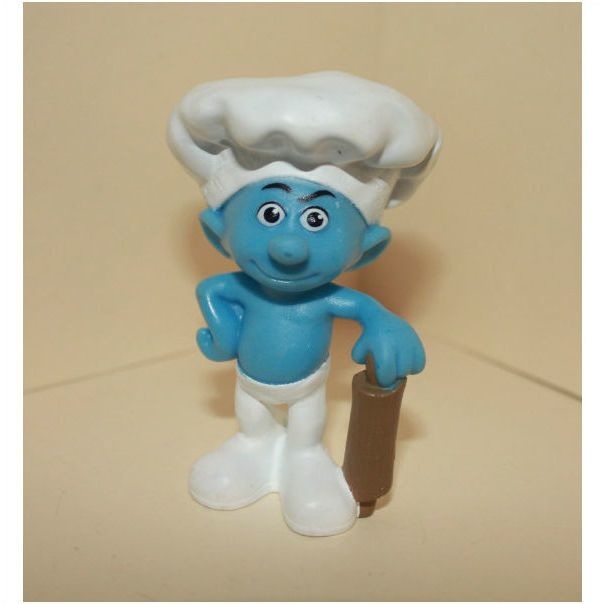 2011 Mcdonalds Smurfs Baker Smurf On Ebid United Kingdom 95215664