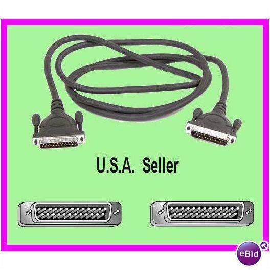 * Belkin 10/' Parallel IEEE 1284 Cable F2A047 A-A NEW *