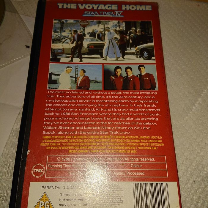 1987 Star Trek IV The Voyage Home