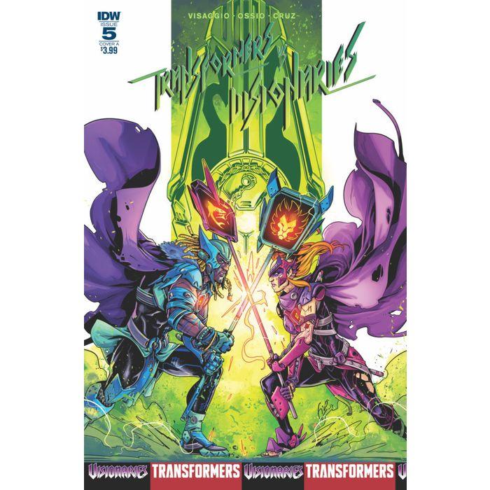 Cvr B Visionaries #1 Transformer vs IDW