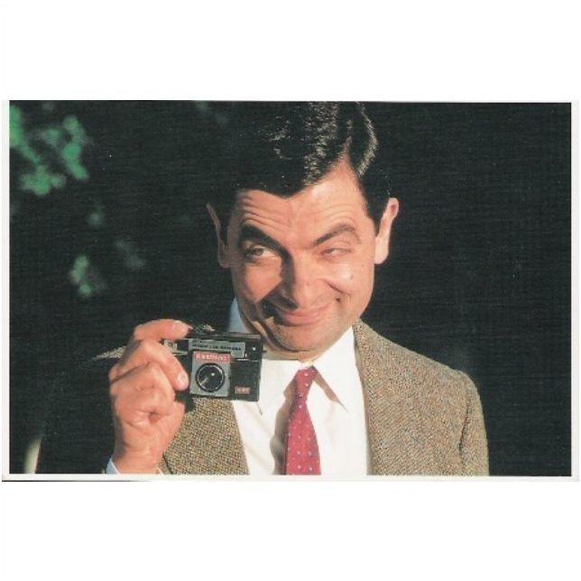 Actor Rowan Atkinson As Mr Bean Promotional Postcard For Film Bean 1997 On Ebid United Kingdom 122803412