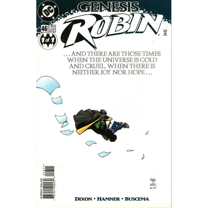 Robin #46. DC Oct 1997. Genesis. Tim Drake. Stand alone story . Dixon. VFN+  761941200439 on eBid United States   153487214