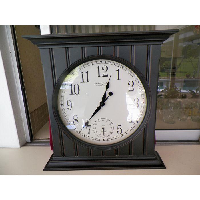 Large Sterling Noble Quartz Wall Clock 19 75 X4 5 X20 5 Tall On Ebid United States 164769319