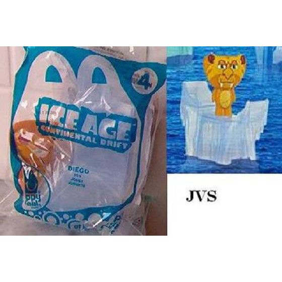 2012 Mcdonald S Ice Age Continental Drift 4 Diego Happy Meal Toy New On Ebid United States 139618105