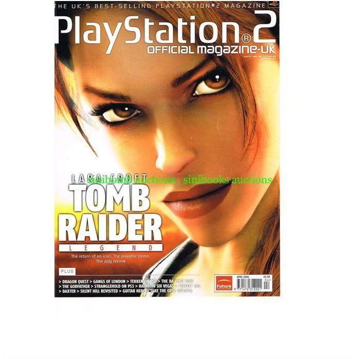 Tomb Raider Legend Opsm Ps2 Playstation 2 Original Magazine
