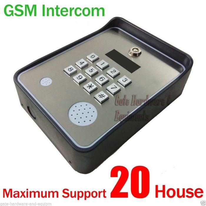 NSEE GSAPT GSM 12//24V Quad Band Intercom System Access Control Gate Door Opener