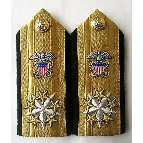 NEW UK ROYAL NAVY HARD SHOULDER BOARDS ALL ADMIRAL RANKS CP MADE HI QUALITY
