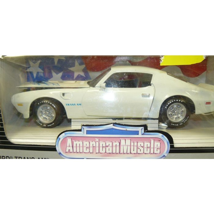 1 18 1973 Pontiac Firebird Trans Am White On Ebid United States 157911584