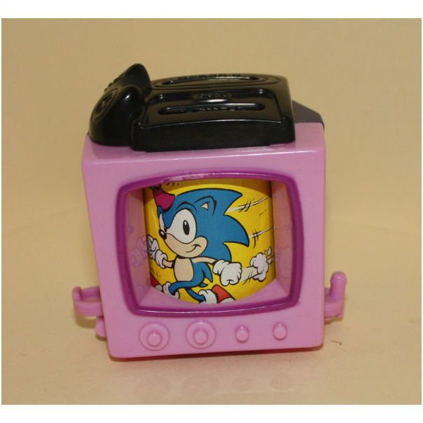 1994 Mcdonalds Happy Birthday Train Sonic The Hedgehog On Ebid