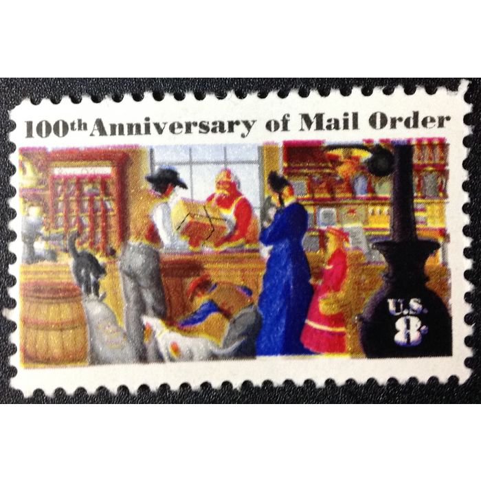 Us Stamp 1468 Mint 1972 8c 100th Anniversary Of Mail Order Mnh On Ebid United States 144403294