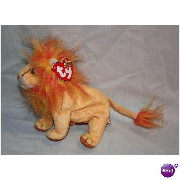 Ty Beanie Buddies Bushy the Lion