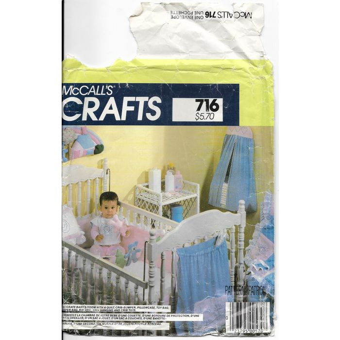Crib Per Pillowcase Toy Diaper Bag