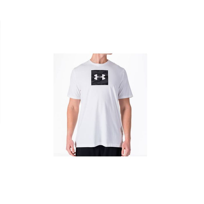 NWT MENS UNDER ARMOUR RED WHITE AUSTRIA LOOSE FIT CHARGED COTTON SHIRT XL