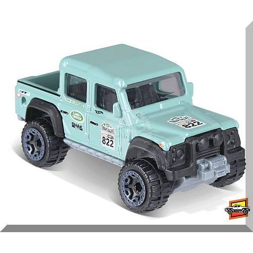 Very RARE Free Shipping HW Hot Trucks Hot Wheels /'15 Land Rover Defender Double Cab #31365