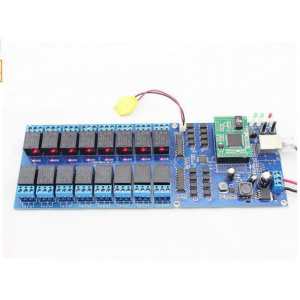 WiFi Ethernet 16 CH Relay Module Switch Board Home Automation SNMP, Web,  IP, LAN 376014918786 on eBid United Kingdom | 164549422