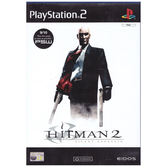 Hitman 2 Silent Assassin Pal For Sony Playstation 2 Ps2 From Eidos