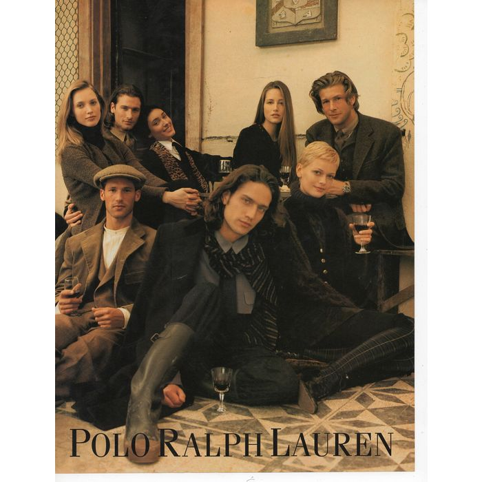 Polo by Ralph Lauren classic Full 7 Page Print Ad September