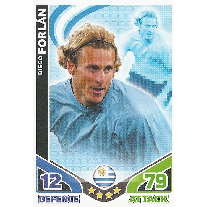 Match Attax World Cup 2010 Uruguay /& USA Cards Pick From List