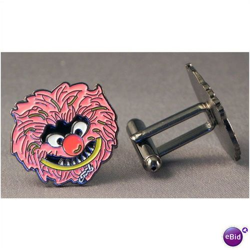 Muppet Style Animal Head Cufflinks On Ebid United Kingdom