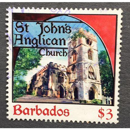 Barbados 2013 Places of Worship SG 1403 $3 St John's Anglican Church