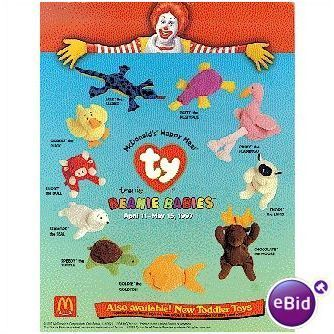 Ty Beanie Babies Patti #1 1996 McDonald's Happy Meal Toy