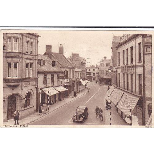 Yeovil High Street Somerset Postcard (SM75987) on eBid United Kingdom 188820454