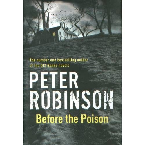 Peter Robinson Before The Poison H B Signed border=