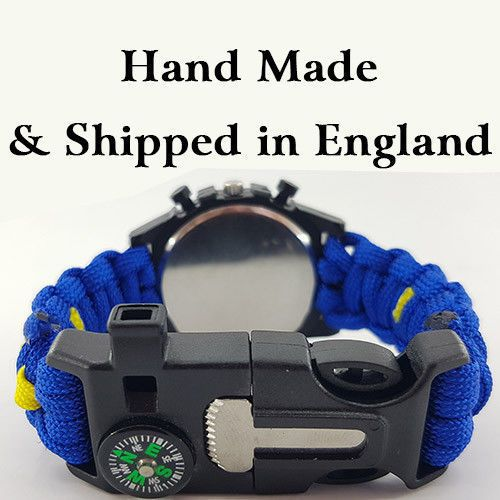 3rd Royal Horse Artillery Badged Survival Bracelet Tactical Edge. 3 RHA