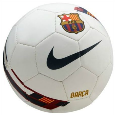 Barcelona Nike Wit Voetbal Bal Large Ball Leather Football Topu Fussball New
