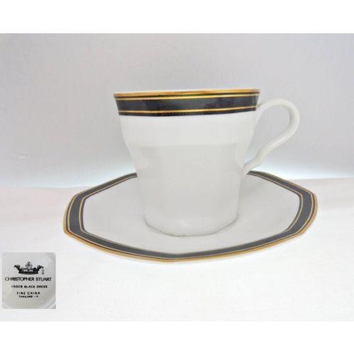 Christopher Stuart Black Dress Y0009 Cup Amp Saucer On Ebid