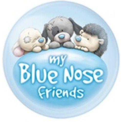 "Lily the Frog # 31 Me To You 4/"" Blue Nose Friends Collectors Plush"