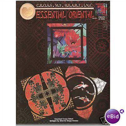 Essential Orientals 3 Designs Cross Stitch Chart
