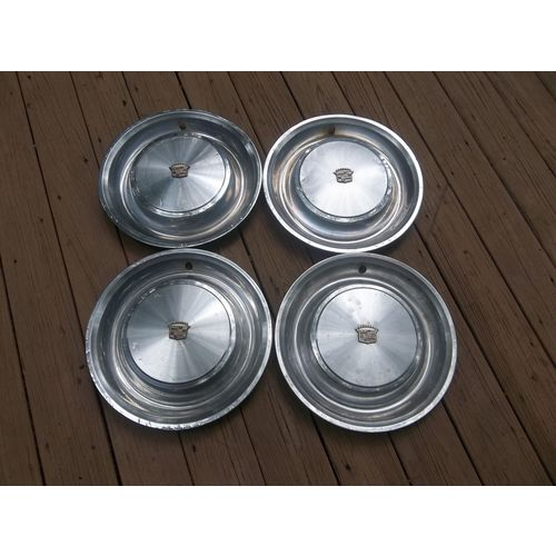 """1973 Cadillac Fleetwood Deville 16"""" Wheel Covers Set Of 4"""