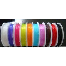 Elastic bead stretchy cord 96/' Black .8mm beading thread 30m m086b 3 rolls
