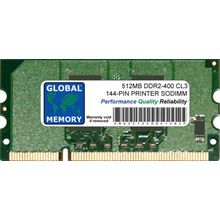 256MB DDR 100-PIN SODIMM RAM FOR PRINTERS 13N1524 , A0743432 , Q2627A , Q7719A
