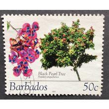 Barbados 2005 Flowering Trees. SG 1270. 50c Black Pearl tree