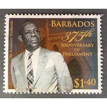 Barbados 2014. 375th Anniversary of Parliament. SG 1414 $1. 40c Kenmore Husbands