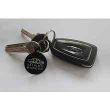Red Post Box Metal Keyring Key Chain Glitter Souvenir Gift London UK GB British