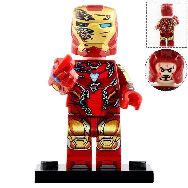Iron Man Snaps His Fingers - Marvel Avengers Endgame Lego ...